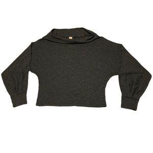 Free People Dark Grey Sweater - Women's Size XS